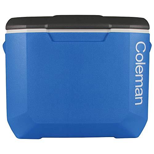 Coleman Blue 60QT Tricolour Wheeled Camping Cooler