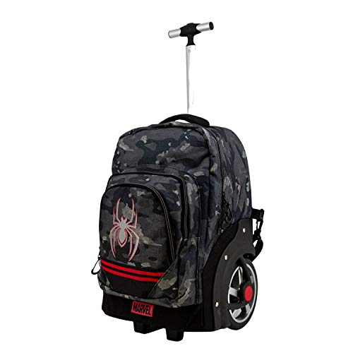 KARACTERMANIA Spiderman Dark: Mochila Trolley Travel GTX  Multicolor