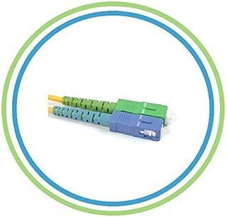 FiberShack - 1M / 3.28ft - SC/APC to SC - Single Mode - Simplex - Fiber Optic Patch Cable