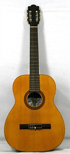 Musikalia Guitarra Classic Mod. Matadi con perfilo y mosaico de liuteria, Vintage–Pintura a Palisandro–Hecha Entre El 1970y el 1990
