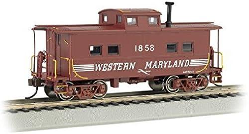 BAC16816 16816 NE Steel Caboose WM  1858 (Speed Lettering) HO by Bachmann Trains