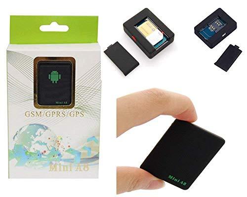 Comprare Web Mini Tracker A8 GPS LOCALIZZATORE GPS MICROSPIA gsm ASCOLTO VOCALE ANTIFURTO CW199
