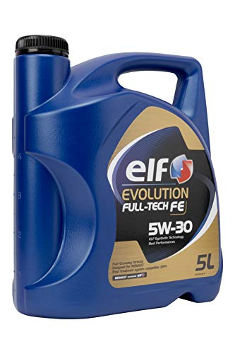 Elf 194910 Evolution Full-Tech FE 5 W30 Lubrificante, 5 litri