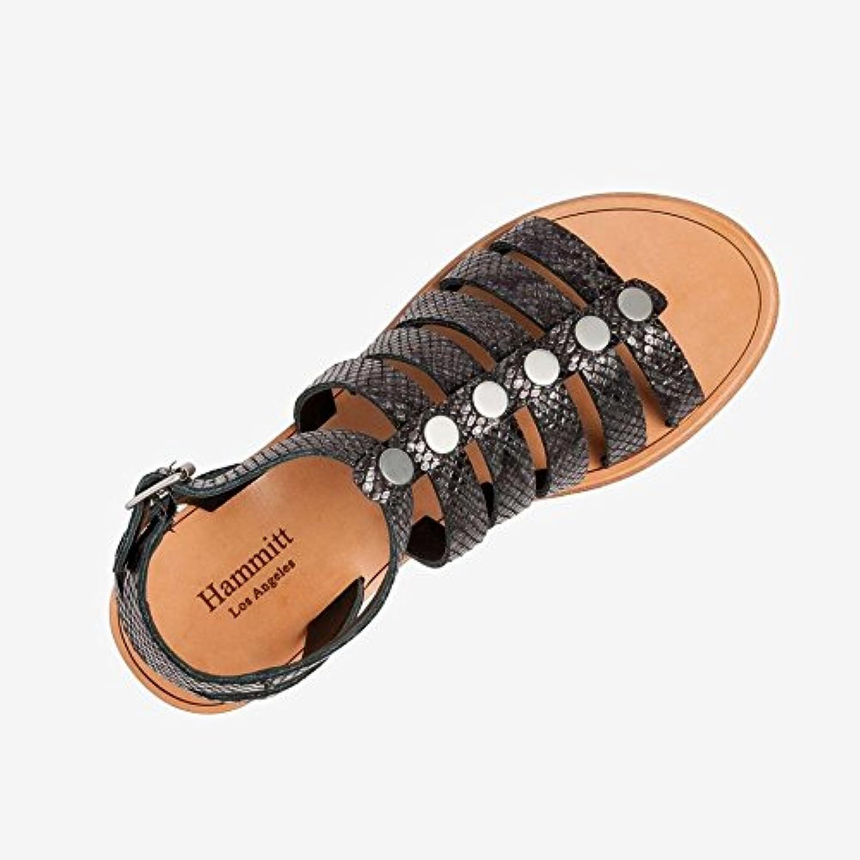 Hammitt Womens Murphy Leather Open Toe Casual Gladiator Sandals