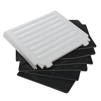 Ferplast Kit de 6 Panneaux Isolants pour Niches pour Chiens Dogvilla70, Kit D'Isolation pour Niches Chiens, Panneaux Isolants Thermiques, Intallation Facile, 62 X 43 X H 8 cm