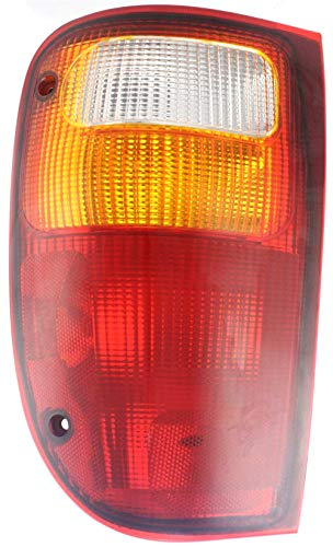 Tail Light Compatible with MAZDA PICKUP 2001-2010 LH Lens and Housing