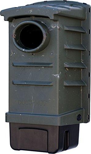 DuckHut Wood Duck House (23.25' x 12' x 11') Green Plastic Wood Duck Nesting Box (1 Box)
