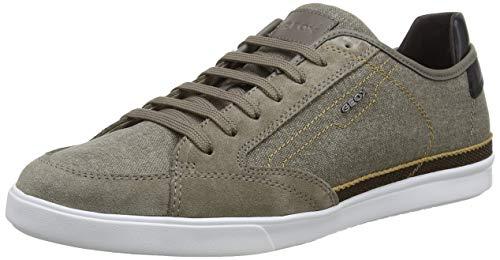 Geox Herren U Walee A Sneaker, Braun, 43 EU