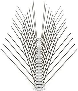 AVI FIN La solución a tus problemas con las aves : Pack 10 Metros -4-hileras de Pinchos antipalomas. Púas Acero Inoxidable. Sistema antipalomas Muy efizaz para ahuyentarlas. El más Vendido.