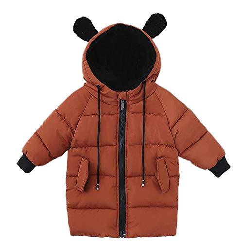Hui.Hui Veste à Capuche en Coton à Manches Longues pour Enfants,Hiver Pas Cher Ensemble Cardigan Pull Pullover Vêtements Manteau Noël Cadeau pour Enfants
