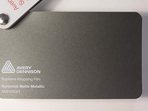 AVERY Supremo AVVOLGIMENTO Folie Serie geweer mat metallic folie autofolie 700 x 152 cm snijden