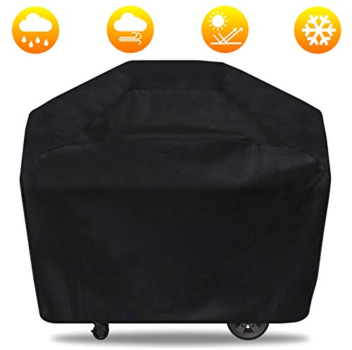 Gas Grill Cover, 65 inch BBQ Grill Cover Durable, Waterproof Large Grill Covers Outdoor, All Weather & UV-Resistant Barbecue Cover for Most Weber, Brinkmann, Charbroil, Holland, Jenn Air, Nexgrill Covers Grill
