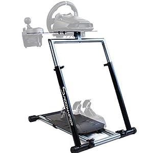 SPEEDMASTER ® Wheelstand GT – Soporte de volante macizo Incluye soporte de cambio de marchas – Wheel Stand – negro…