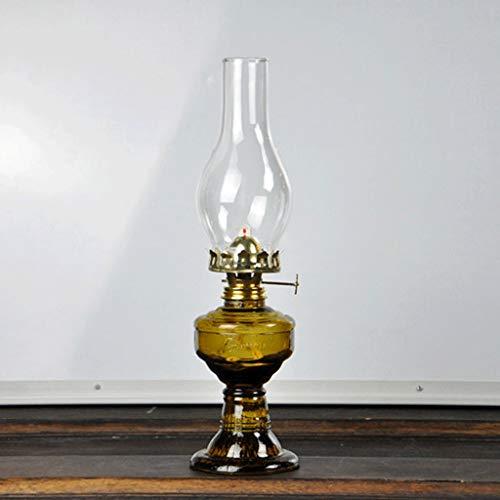 GCMJ Lampes TempêTe Verre Lampe à pétrole Vintage Maison Feux d'urgence (Color : A)