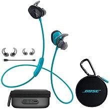 Bose SoundSport Wireless Headphones Aqua - Bundle With Bose Charging Case for SoundSport Wireless Headphones