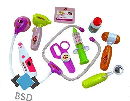 BSD Jouet Valise médicale Futur Petit médecin + Accessoires