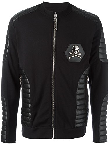 PHILIPP PLEIN JOGGING JACKET 'PURPLE' - Black (M)
