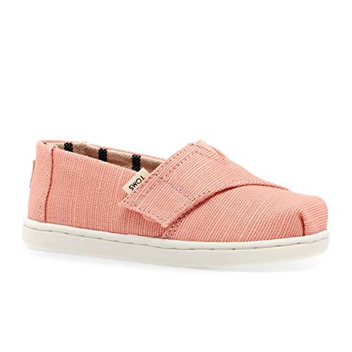 TOMS Unisex-Kinder Tiny Alpargata Espadrilles, Pink (Coral Pink 000), 26 EU