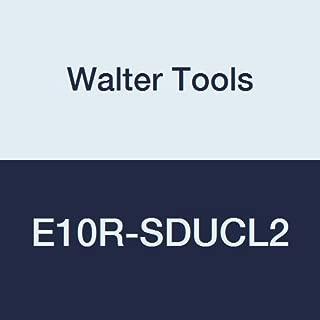 Walter Tools E10R-SDUCL2 Carbide Boring Bar, Left Hand, 0.85