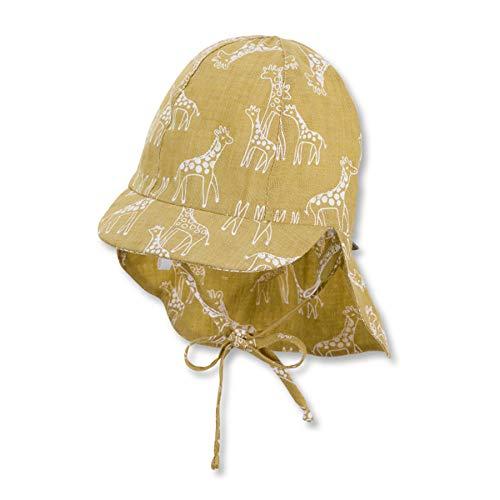 Sterntaler Baby Jungen Mßtze Winter Hut, gelb, 51 EU