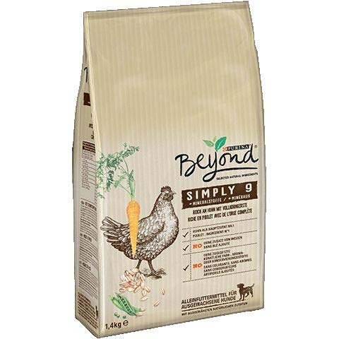 Purina Beyond Simply 9 Trockenfutter mit Huhn (1,40 kg) - 4502011814