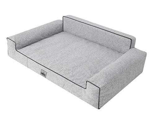 Cama para perros, sofá para perros, cojín para perros, sofá para perros, cama para animales, suave, tamaño L-XXXL