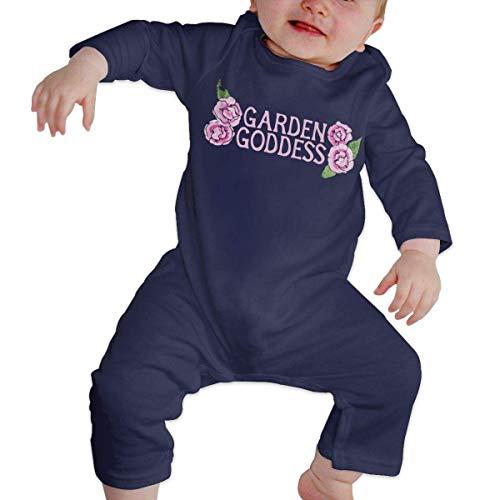 ZhuHanug Baby Infant Toddler Romper Jumpsuit Garden Goddess Cotton Long Sleeve Climb Romper