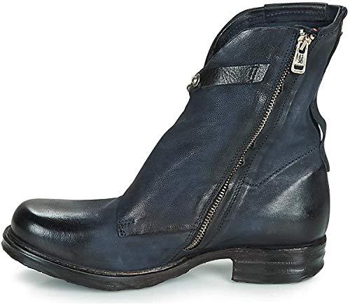 A.S.98 Damen Boots taubenblau 38
