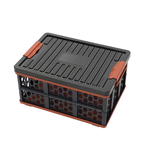 TMXK Caja de Almacenamiento Plegable de 28L para Acampar al Aire Libre con Bolsa Impermeable para la Cesta de refrigeración y Almacenamiento