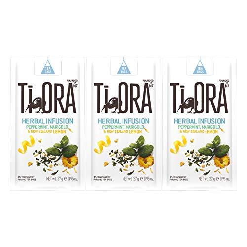 Ti Ora Herbal Infusion Peppermint Marigold, Kräutertee, Kräuter Tee, 45 Teebeutel, á 1.8 g