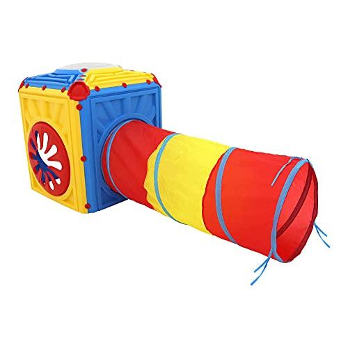 Brinquedo Cubo Tunel Infantil Bel