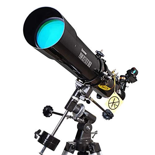 Ppy778 Telescopio Espejo de Viaje Telescopios Espejo Profesional de Espacio Profundo Mirador de Estrellas Telescopio de refracción Telescopio para Adultos de Gran Aumento HD con trípode Ajustable