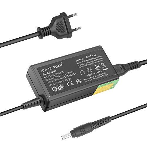 TUV HKY 19V 60W 65W Laptop Netzteil Ladekabel Stromkabel für Samsung R780 RC720 R560 R580 R730 RF710 R719 Np350v5c Np355e7c Np365e5c Serie2 NP200a5b Serie 3 4 6 R480 Rc512 Rv510 RV510i RV711 RV720