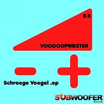 Schraege Voegel