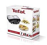 Tefal Ultracompact Sandwichmaker SM1552 | Für dreieckige Sandwichtoasts | Herausnehmbare, antihaftbeschichtete Platten (spülmaschinengeeignet) | 700W | Sandwich-Grill