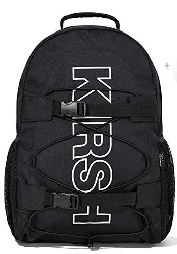 [KIRSH]キルシー POCKET SPORTS BACKPACK JS ブラックリュックサックポケットスポーツバックパック [並行輸入品] (ブラック)