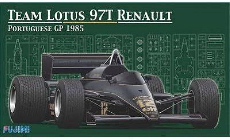 nuevo estilo 1 20 Team Lotus 97t Renault Portuguese GP GP GP 1985 w clear Body (japan import)  más orden