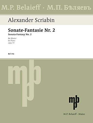 Sonate-Fantasie Nr. 2: gis-Moll. op. 19. Klavier.