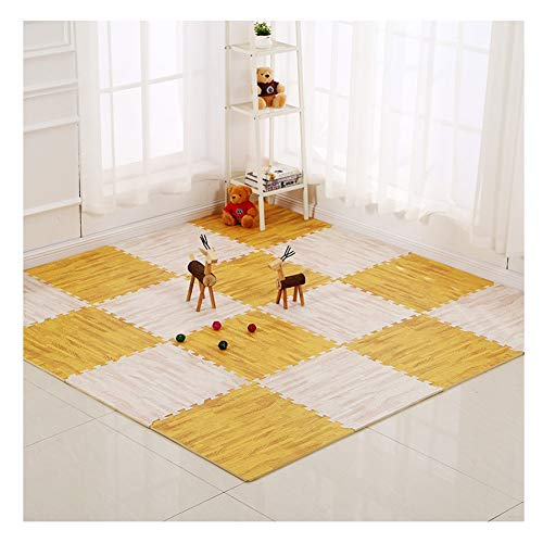 Amazing Deal ALGFree Interlocking Floors Tiles Foam Play Mat Splice Baby Crawling Mat Child Bedroom ...