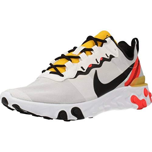 Nike React Element 55 Mens BQ6166-102 Size 12 White