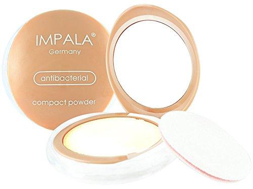 Impala Antibakteriell Transparent Kompakt Puder 00 Matt Seidige Berührung