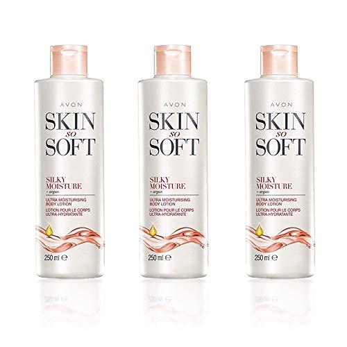3x piel Tan suave sedoso humedad Ultra Hidratante Cuerpo Lotion 250ml cada