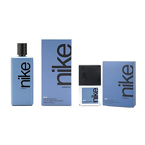 Nike Blue, Eau de Toilette para Hombre, Promoción 100 ml + 30 ml