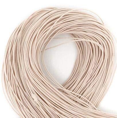 100 meter * 1mm Elastiek Kralen elastische stretch Cord Kralen Cord string riem Rope voor armband wit zwart kleurrijke,4 vlees