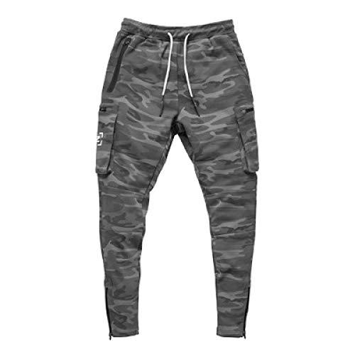 Pantalon de Jogging pour Homme, Pantalon de Sport, Camouflage Classique de Grande Taille de Longue Date, Sports et Loisirs, Pantalon à Taille élastique avec Cordon de Serrage