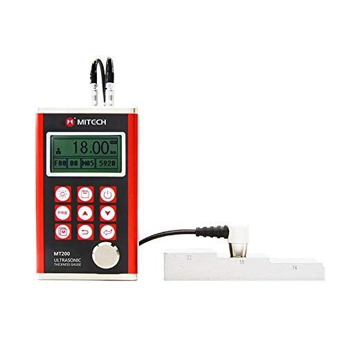 KAIBINY Medidor de medidor de Grosor de MT200 portátil Medidor de Espesor por ultrasonido