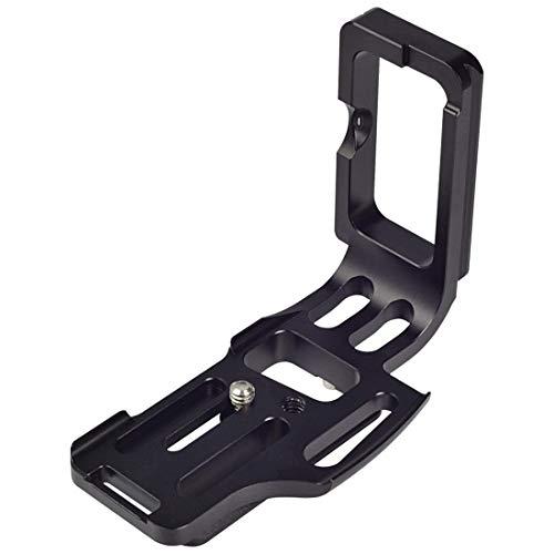 """MENGS® D810 1/4"""" tornillo Placa de liberación rápida L soporte para Nikon D810"""