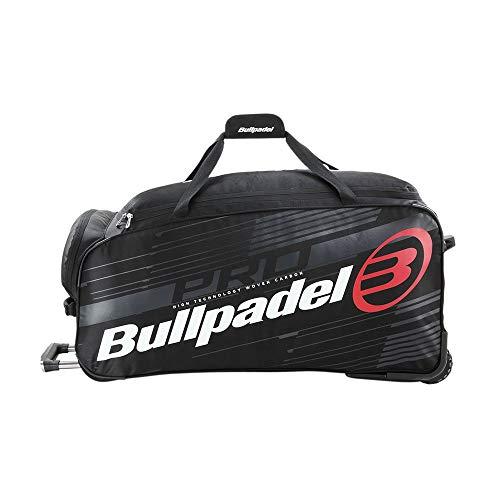 Bull padel Maleta BULLPADEL BPP-21011 Trolley 005 Paletero, Adultos Unisex, Negro (Negro), Talla Única