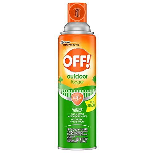 OFF! Outdoor Insect & Mosquito Repellent Fogger, Kills & Repels Insects in an up to 900 sq, ft,...
