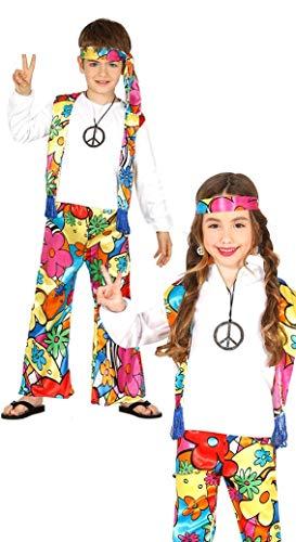 Guirca 87483 - Hippie Infantil Talla 10-12 Años